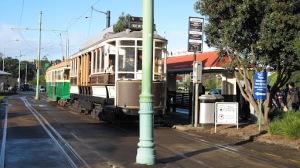 Troley entre el Zoo de Auckland y el museo MOTAT
